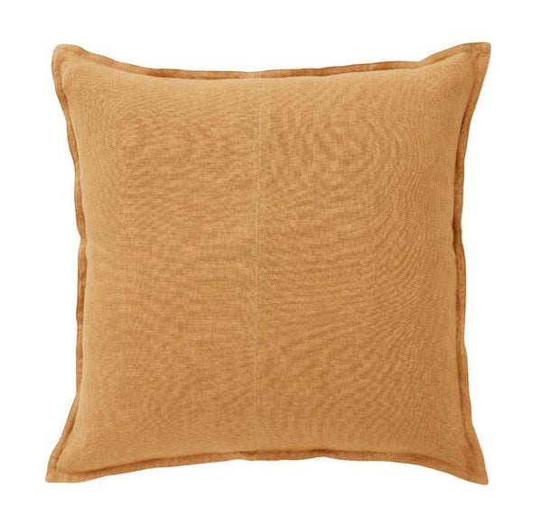 COMO SQUARE 60CM CUSHION - AMBER