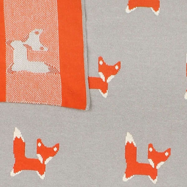 FOX REVERSIBLE BLANKET