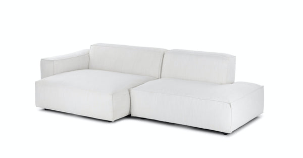 MILLER LEFT SECTIONAL - CHILL GREY - The Loom Collection