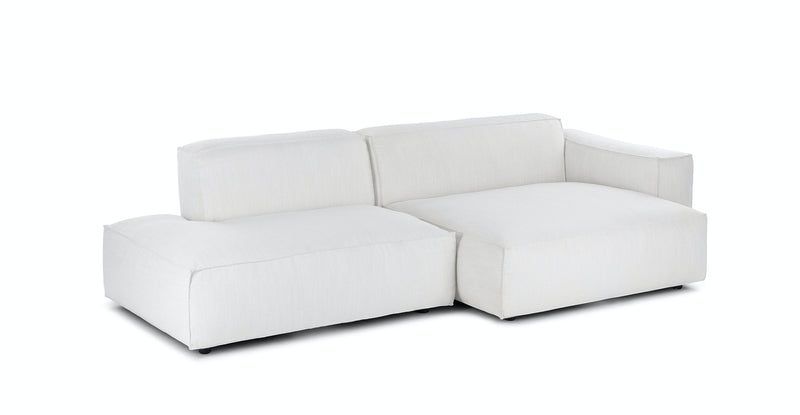 MILLER RIGHT SECTIONAL - CHILL GREY - The Loom Collection
