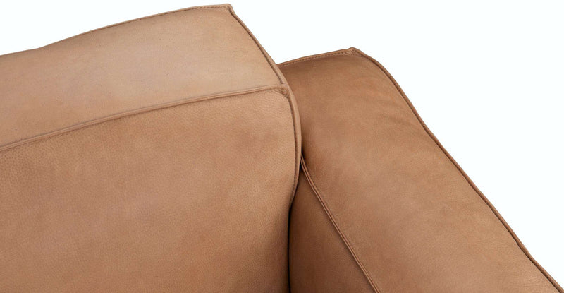 MILLER RIGHT ARM MODULE - TAN LEATHER