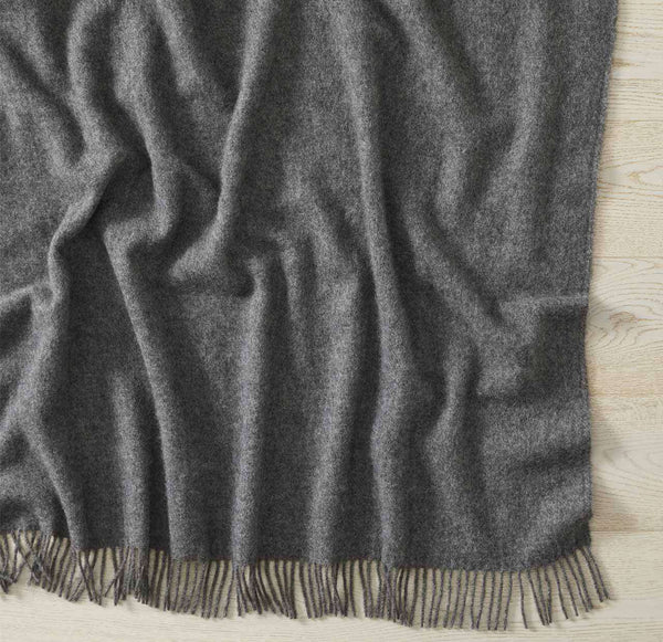 NEVIS THROW - CHARCOAL