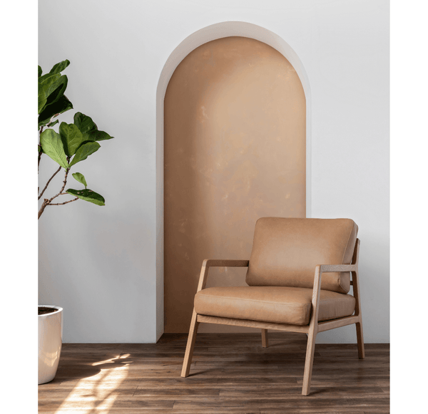 NYSSE ARMCHAIR - MONTANA CANYON LEATHER