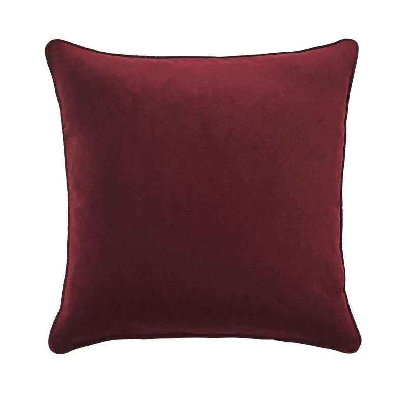 ZOE CUSHION - BEETROOT