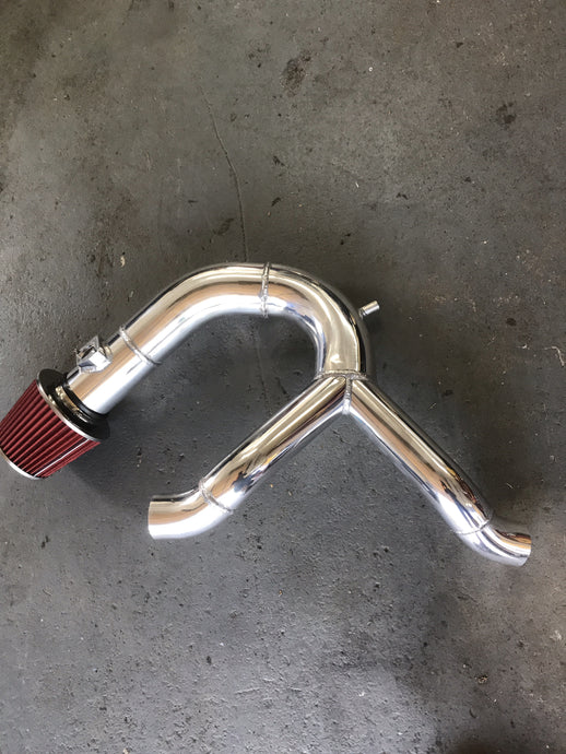 S.E.P Auto rs4 y pipe with integrated intake 85mm id