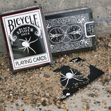 Black Spider Deck - Bicycle