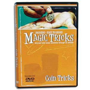 Amazing Easy To Learn Magic Tricks- Coin Tricks DVD