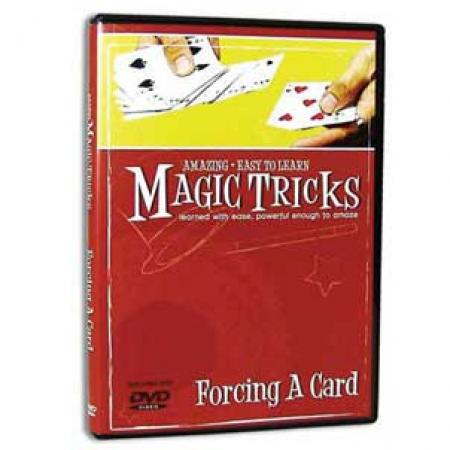 Amazing Easy to Learn Magic Tricks Forcing a Card DVD