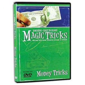 Amazing Easy to Learn Magic Tricks Money Magic DVD