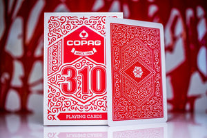 Copag 310 Playing Cards – Red