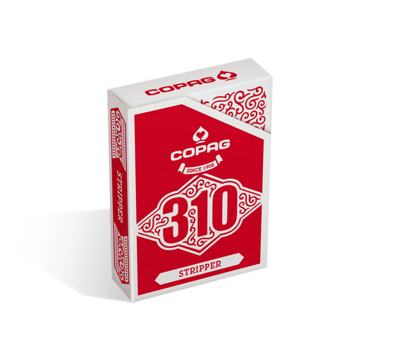 Copag 310 Stripper Deck Red