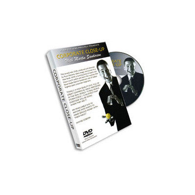 Corporate Close Up #1 Martin Sanderson & RSVP - DVD