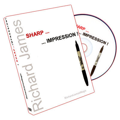 Sharp Impression (DVD and Gimmicks) by Richard James