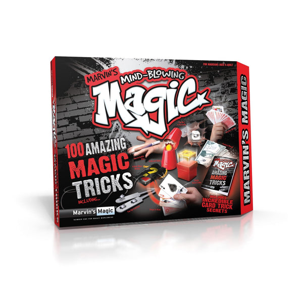 Marvin's Mind-Blowing Magic - 100 Amazing Magic Tricks By Marvin's Magic