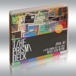Prism Deck  & DVD by Joshua Jay