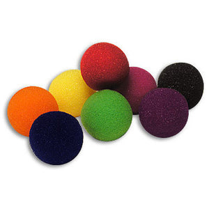 "2"" 4 Super Soft Sponge Balls (Blue)"