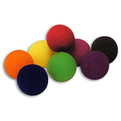 "2"" 4 Super Soft Sponge Balls (Yellow)"