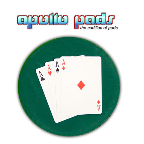 "Apollo SpotLight 6"" Round Close up Mat Blue, Black, Green or Red"