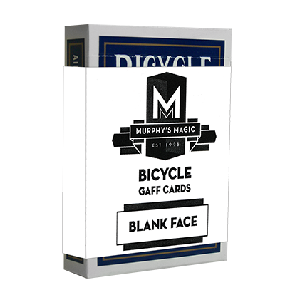 Blank Face Bicycle Cards Blue