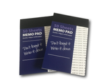Force Pad New Design Blue Lined Paper - ( Set of Two)