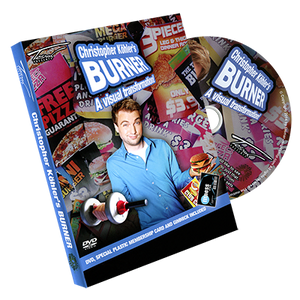 Burner (gimmicks & DVD) by Christopher Köhlers