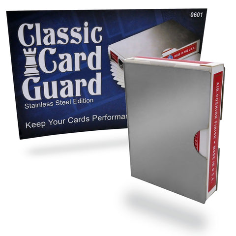 Card Guard Stainless Steel