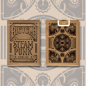 Bicycle Steampunk Playing Cards by USPCC