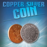 Copper Silver Coin UK 10p 2p From Warped Magic