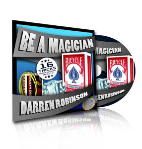 Be A Magician DVD With Darren Robinson