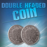 Double Headed 10p Coin From Warped Magic
