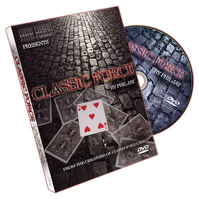 Classic Force DVD by Phil Jay and JB Magic