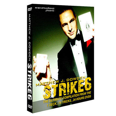 Strike6 by Matthew Dowden - DVD