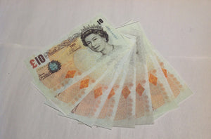 Flash Paper £10 Notes by Illusioncraft