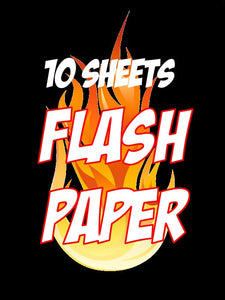 White Flash Paper 10 Sheets