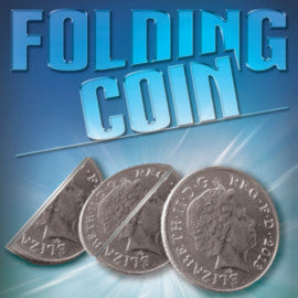 Single Folding 10p Coin In Bottle Trick