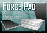 Force Pad Double Black ( Set of Two)