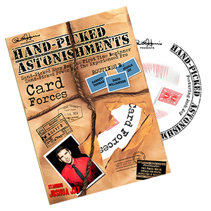 Hand-picked Astonishments (Card Forces) by Paul Harris and Joshua Jay - DVD