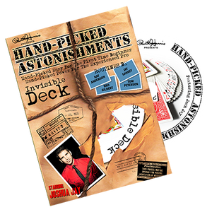 Hand-picked Astonishments (Invisible Deck) by Paul Harris and Joshua Jay - DVD