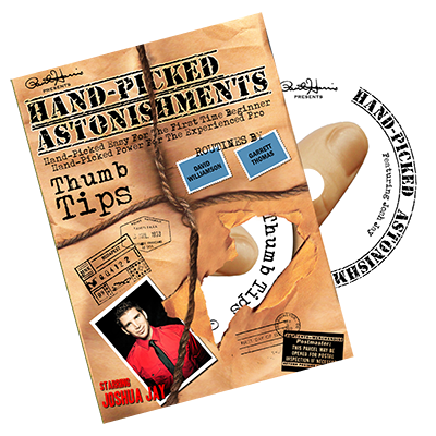 Hand-picked Astonishments (Thumb Tips) by Paul Harris and Joshua Jay - DVD