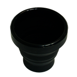 Harmonica Chop Cup Black (Silicon) by Leo Smetsers
