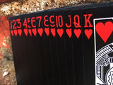 Bicycle Black Tiger Deck Red Pip by Ellusionist