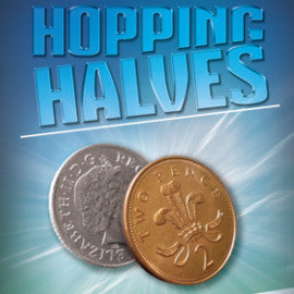 Hopping Halves 10p/2p Coin Set From Warped Magic
