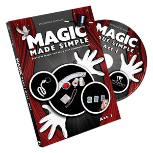 Magic Made Simple Act 1 - DVD