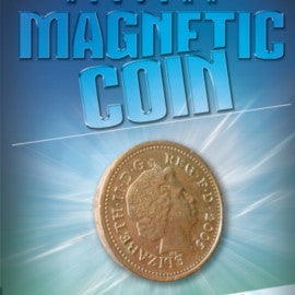 Magnetic £1 Coin By Warped Magic