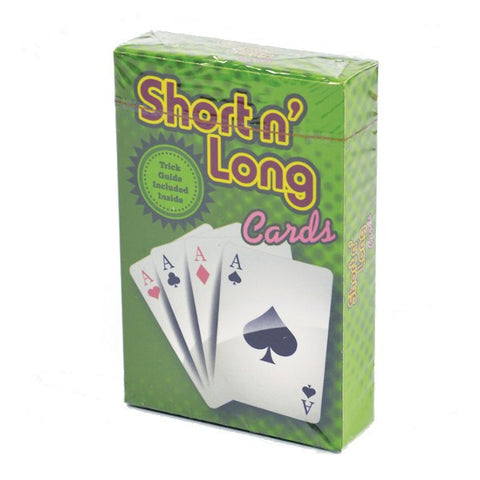 Magic Long & Short Cards Trick