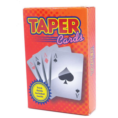 Magic Taper Stripper Deck Trick