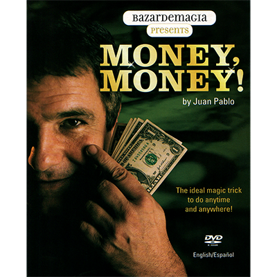 Money, Money DVD by Juan Pablo and Bazar de Magia