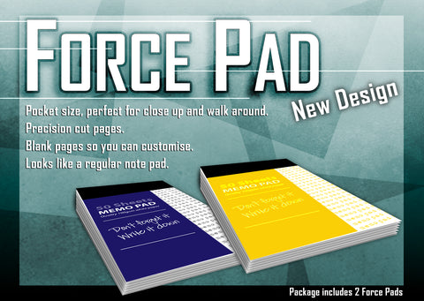 Force Pad New Design Yellow - ( Set of Two)