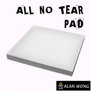 No Tear Pad (Small, 3.5 X 3.5, All No Tear) by Alan Wong