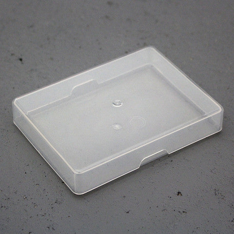 Plastic Playing Card Box Poker Size Clear Warped Magic